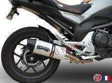 SILENCIEUX GPR FURORE ALU HONDA NC 700 X/S INTEGRA DCT 2012/13