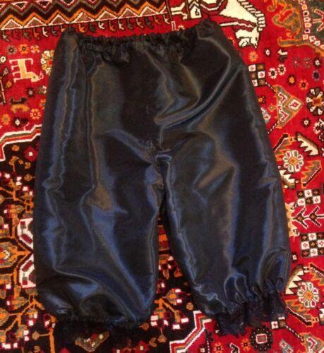 Costume taille 4-30 Handmade Style Victorien Bloomers Pantalon Capris taffetas