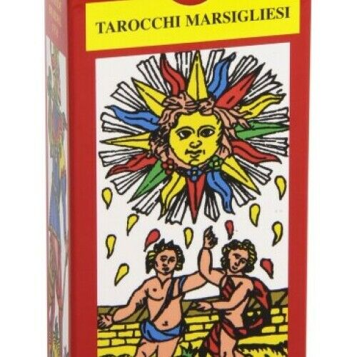 78 CARTE - I TAROCCHI MARSIGLIESI - CLAUDE BURDEL - SCARABEO EDIZIONI