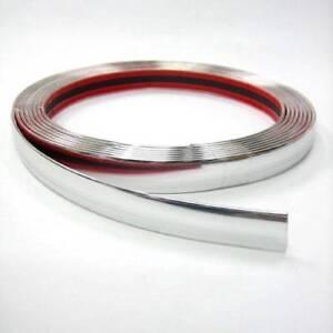 Chrom-Zierleiste-25mm-x-3-m-Neu-selbstklebend-universal-Auto-Chromleiste