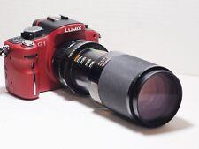 85-210mm= lens 190-420mm on LUMIX G HD 4K Micro 4/3 Digital PEN G6 G2 G5 G3 GM1