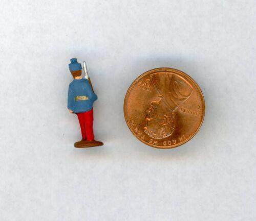 "Miniature Dollhouse Civil War Soldier Figurine 7//8/"" H"
