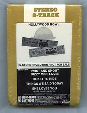 The Beatles At The Hollywood Bowl 1977 Promo only 8 Track Catridge Sealed NEW