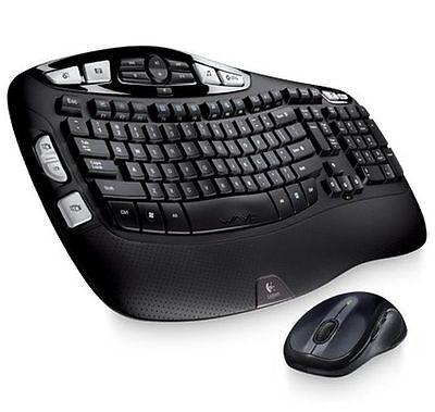 Logitech Mk550 Wireless Wave Keyboard & Mouse Combo K350 M510 Combo