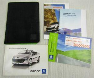 Bedienungsanleitung-Peugeot-207-CC-Betriebsanleitung-Bordmappe-7-2007