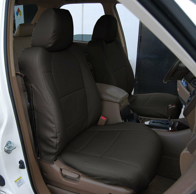 ACURA MDX 2002-2006 IGGEE S.LEATHER CUSTOM FIT FRONT SEAT