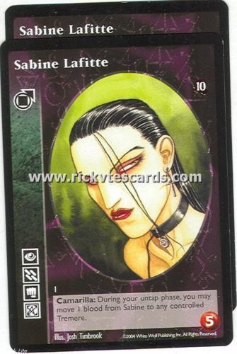 Sabine Lafitte x2 Tremere TAE VTES Jyhad