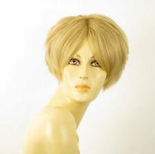 perruque femme 100% cheveux naturel courte blonde ref WANDA 22