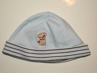 GYMBOREE BRAND NEW BABY BLUE STRIPE POM POM SWEATER HAT 3 6 NWT