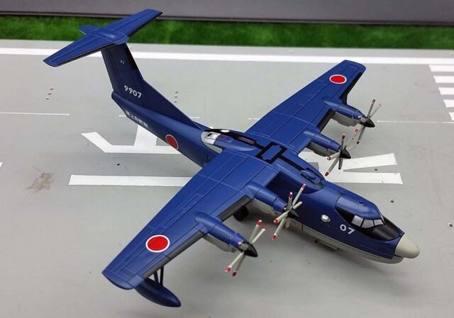 1 250 Japan JMSDF Shin MEIWA Us-2 Flying Boat Aircraft Diecast Model Plane