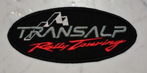 Transalp Rally Touring ADV IRONON PATCH Aufnäher honda Parche brodé patche toppa