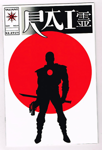 1992-Valiant-Comics-RAI-0-1st-Appearance-Bloodshot-Non-Glossy-version