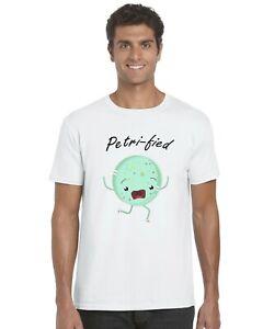 Petri-Fied-Petri-Dish-Inspired-Funny-Adults-T-Shirt-Tee-Top-Sizes-S-XXL