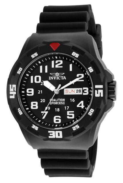 Invicta 25323 Men's Coalition Forces 45mm Black Dial Watch