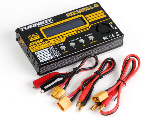 Turnigy ACCUCEL 6 80W 5-Amp Battery Charger for sale online