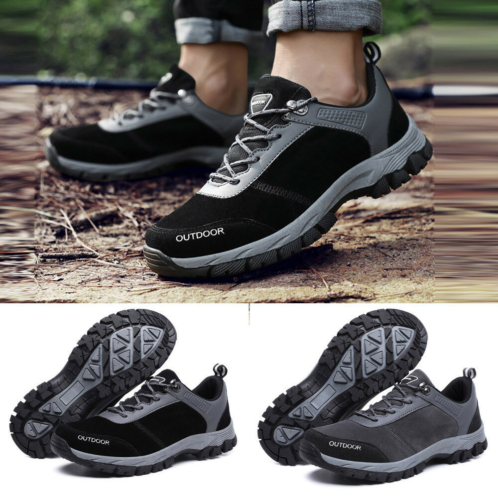 Mens Running shoes Hiking shoes Sneakers Athletic Outdoor Sports Hiking Sneakers