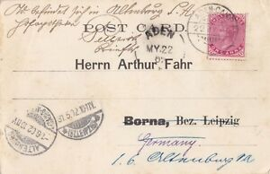 Details about ADEN YEMEN 1902 POSTCARD SENT TO GERMANY BEARING INDIAN  STAMPS 'ADEN-CAMP' PMK