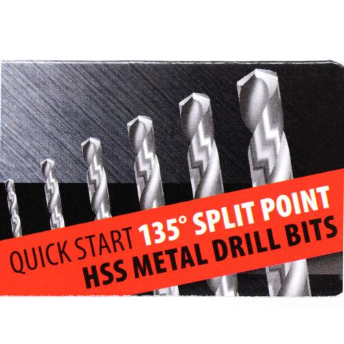 15 PCS HSS METAL DRILL BIT SET 1.5 2 2.5 3 3.2 3.5 4 4.5 5 6 8 10 AK7