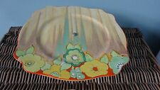 Clarice Cliff Bizarre Jonquil Pattern Cake Stand Rare Item with minor damage