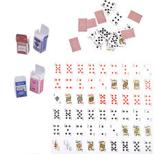 Cute Mini Dollhouse Miniature Poker Card Playing Game Kid Barbie Doll Home Decor
