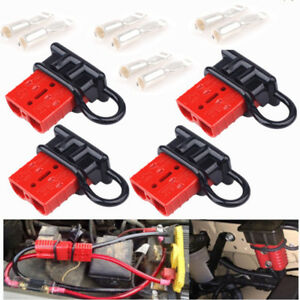 4x Car Marine Battery Terminal Cable Quick Connect Disconnect Winch Trailer Plug