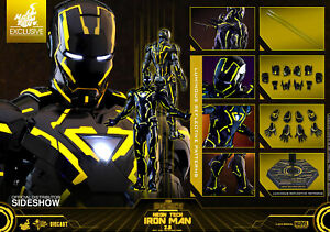 Hot-Toys-Iron-Man-Neon-Tech-2-0-San-Diego-comic-con-2019-Exclusive-Marvel-1-6-Scale-Figure-NEW