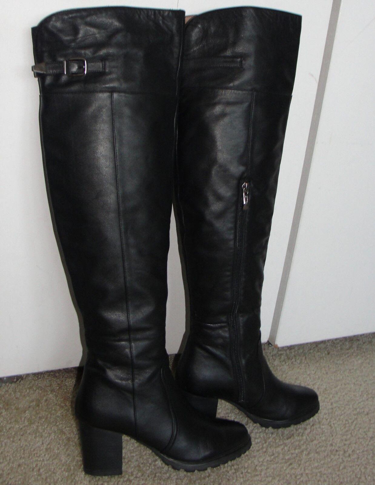 Belle Serie Clásica Bonito botas Altas de Piel Piel Piel Cremallera Mujer Zapatos 7 (  estilo clásico