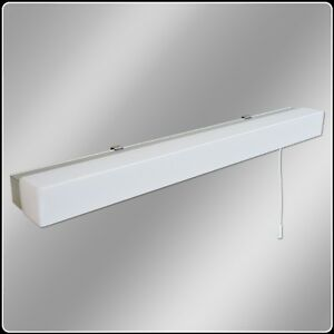 Image Is Loading Led Bathroom Mirror Light Eterna Omled10 Low Energy