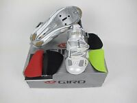 Giro Espada Women's Road Cycling Shoes 40 / 8.25- White/silver - $225 Retail