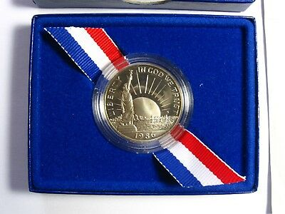 1986-S Statue of Liberty Commemorative Half Dollar Proof