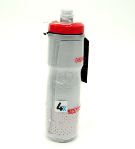 Camelbak Podium Ice 21 oz Insulated Water Bottle Fiery Red//White