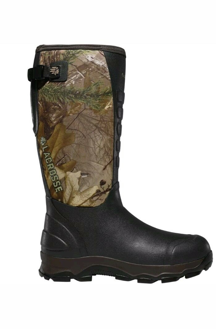 LaCrosse 376103 4xAlphaRealtree Xtra 7.0 Pull On Waterproof Insulated Camo Boots