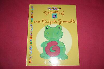 Mon Abecedaire Des Animaux Decouvre Le G Avec Gladys La Grenouille Ref 60191 Ebay