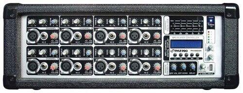 Pyle PMX802M Pro 8 Channel MP3 Mixer