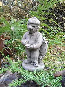 Image Is Loading Stone Garden Golf Player Golfer Man Statue Ornament