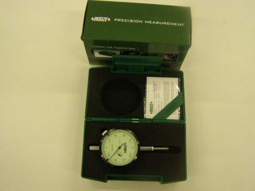 """INSIZE Inch Dial Indicator 0-0.5X0.001/"""" Model # 2307-05"""
