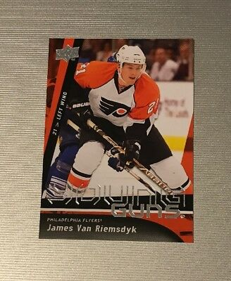 James Van Riemsdyk Hockey Card 2009-10 Upper Deck #207 James Van Riemsdyk