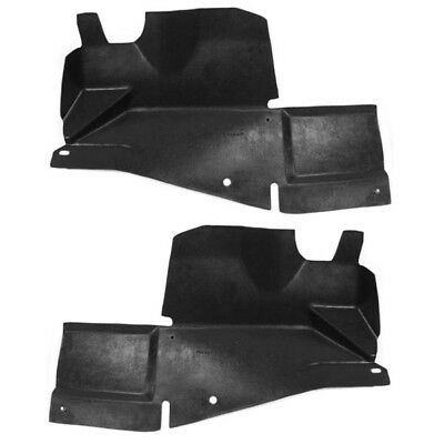 Partomotive For 07-10 Sebring 08-14 Avenger Engine Splash Shield Under Cover Left Right SET PAIR
