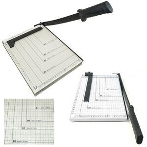 Taglierina-A-Leva-Per-Fogli-Taglia-Carta-Ghigliottina-Metallo-Precisione-3165