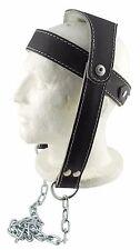 HEAD Harness collo Harness REGOLABILE DIMENSIONI GENUINE LEATHER design by SENSHI Giappone