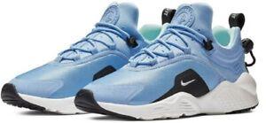 Nike-Air-Huarache-City-Move-AO3172-100-400-Womens-Shoes-Running-White-Blue-DS