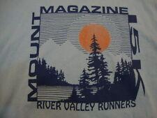 Vintage Mount Magazine 15K River Valley Runners '95 Blue T Shirt Men's Size M