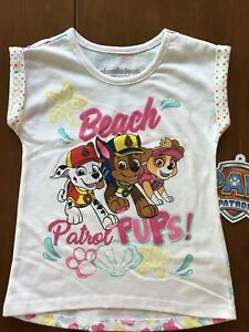 "Paw Patrol snug fit pjs features Chase Skye and words /""Be Happy/"" Marshall"