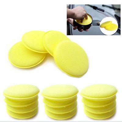 10PC Waxing Polish Wax Foam Sponge Applicator Pad for Clean Car Vehicle Glass