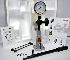 Diesel Injector Nozzle Pop Pressure Tester - Dual Scale Gauge 400 Bar / PSI
