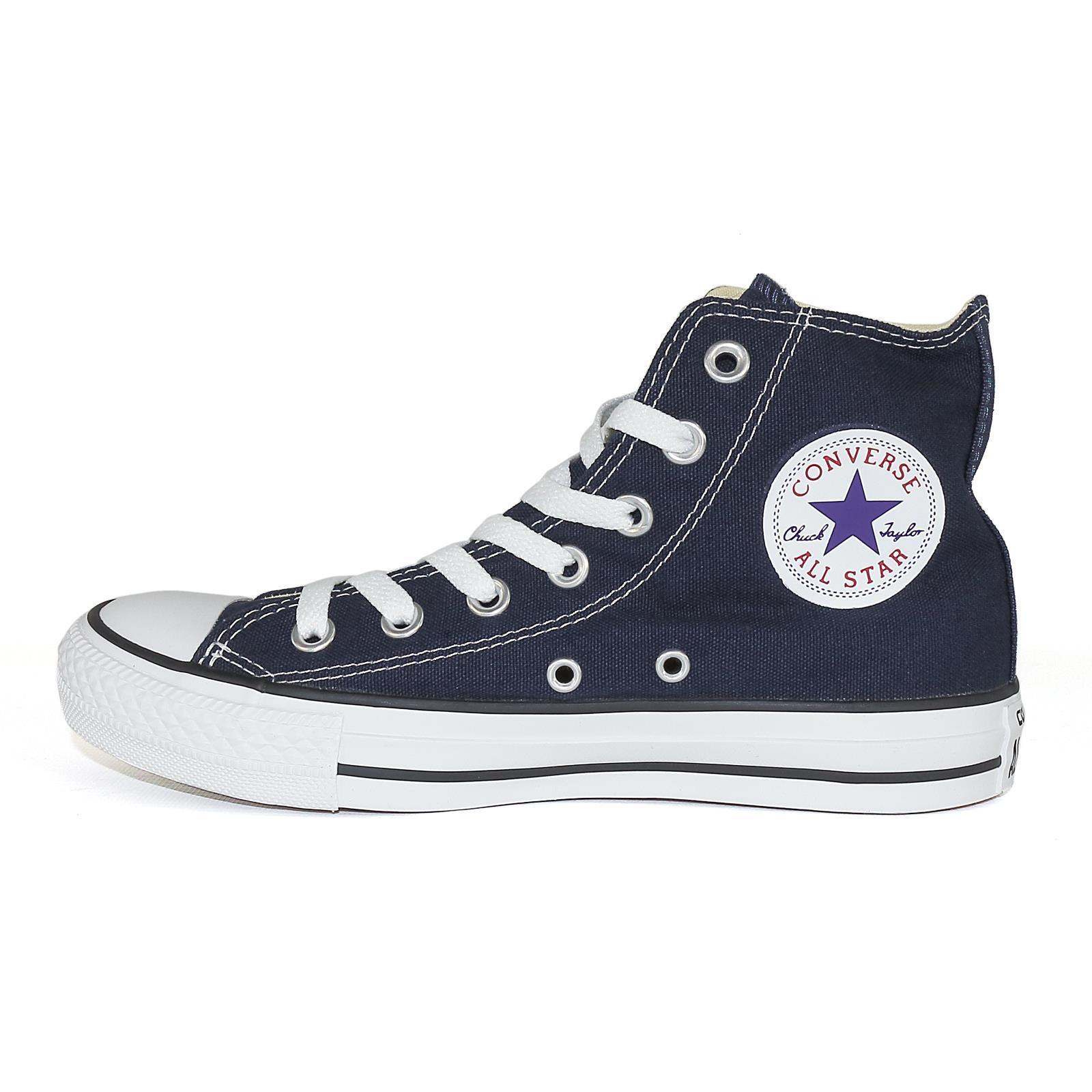 Converse All Star Hi Chuck Turnchaussures Unisexe chaussures Navy 50668