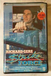 Strike-Force-VHS-1975-Action-Thriller-Barry-Shear-Richard-Gere-1987-CBS-FOX