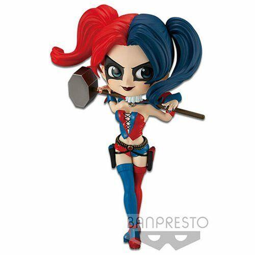 DC Comics Figure Authentic Special Color Harley Quinn Banpresto Q Posket NEW
