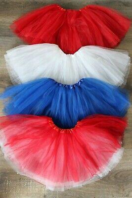 NEW Patriotic 4th of July American Girl TUTU Dress Up Ballet Americana Skirt