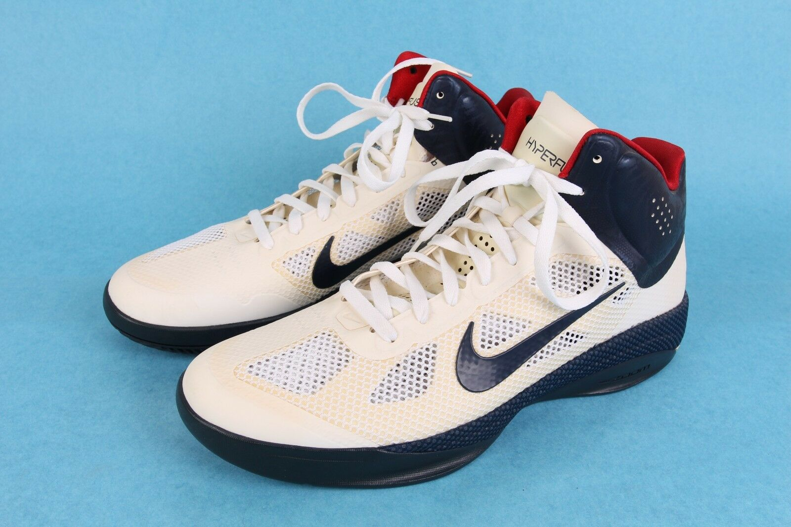 2010 NIKE ZOOM HPERFUSE OLYMPIC gold MEDAL MENS BASKETBALL SHOES UNWORN SZ 14
